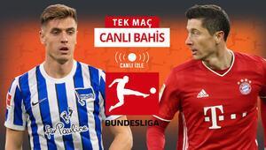 Bir tarafta Piatek, diğer tarafta Lewandowski Bundesliga CANLI YAYINLA Misli.comda...