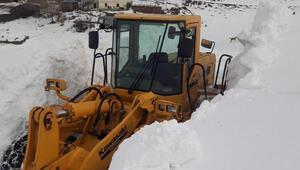 Karlıovada kar kalınlığı, iş makinelerinin boyunu geçti