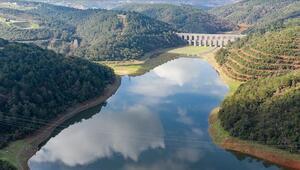 İstanbul barajlarındaki su seviyesi artmaya devam ediyor.. İşte İSKİden gelen son veriler