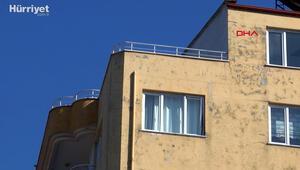 Apartmanın 8inci katından düşen Özgecan  öldü, erkek arkadaşı gözaltına alındı