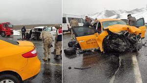Vanda dehşete düşüren kaza