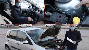 İkinci el otomobil aldı, hayatının şokunu yaşadı Aracın yarısı...