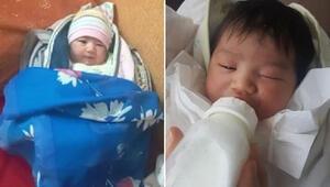 Samsunda çöpte bulunan 1 haftalık bebekten sevindiren haber
