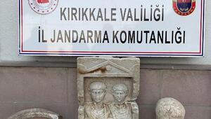 Kırıkkalede tarihi eser operasyonu: 2 gözaltı