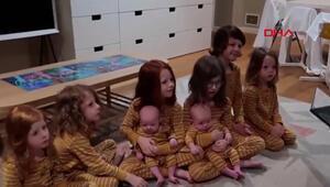 8 çocuklu annenin ev mesaisi sosyal medyada büyük ilgi gördü