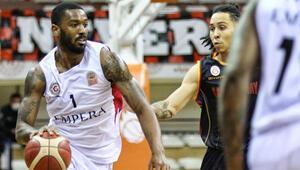 Empera Halı Gaziantep Basketbol 68-61 Galatasaray