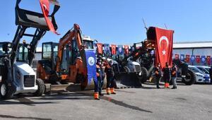 Sivas Belediyesi bünyesine 39 yeni araç ve makine hizmete alındı