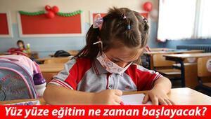 Okullar ne zaman açılacak Bakan Selçuk yüz yüze eğitime başlayacak olan sınıfları açıkladı