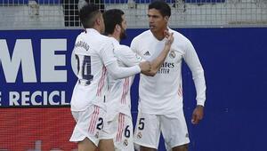 Real Madrid, lig sonuncusu Huescayı zor yendi