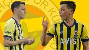 İşte Fenerbahçede Mesut Özilin Galatasaray derbisi performansı