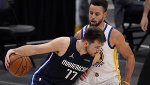 NBAde Gecenin Sonuçları: Currynin 57 sayısı Warriorsa yetmedi Doncic ve Mavericks...
