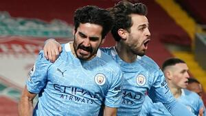 Liverpool 1-4 Manchester City / Maç sonucu