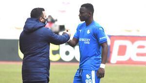 Erzurumspordan Kayserispor maçında şaibe iddiası Yaw Ackah kadro dışı bırakıldı
