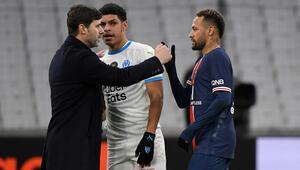 PSG, Olympique Marsilyanın fişini ilk yarıda çekti