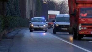 Çakarlı araçlar, İstanbul trafiğinin yoğun olduğu saatlerde yine ortaya çıktı