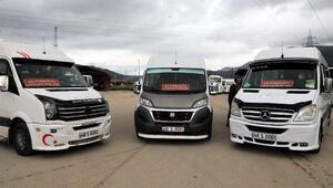 Muğlada sağlık çalışanlarını S plakalı personel servis araçları taşıyacak