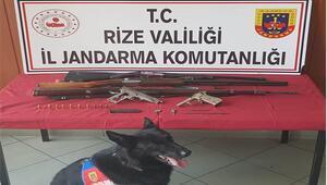 Rizede silah imalatı ve ticaretine yönelik operasyonda 1 şüpheli yakalandı