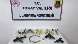 Tokatta silah kaçakçılığı operasyonu