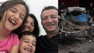 Kazada ölen Vurmaz çifti ile 8 yaşındaki oğulları yan yana toprağa verildi