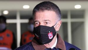 Trabzonspor Başkanı Ahmet Ağaoğlu: Zemin çok kötüydü