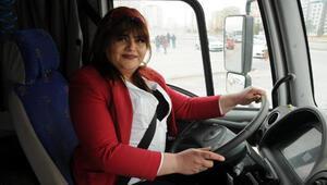 Fatoş, TIR şoförü olmak için direksiyon kursuna yazıldı