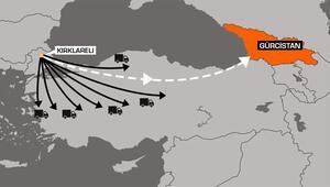 Son yılların en büyük operasyonu 21 TIR buhar oldu…