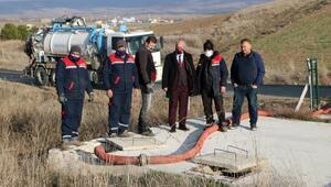 OSBnin arızalanan atık su hattında çalışma başlatıldı