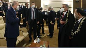 Cumhurbaşkanı Erdoğan, İrfan Fidan'ın yemin törenine katıldı