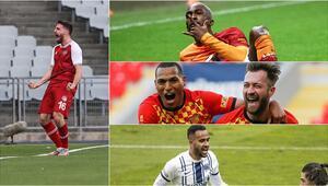 Süper Ligde ara transferde takımlarına katılan yenilerden 25 gol