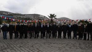 Atanın Kuşadasına gelişinin 97inci yılı törenle kutlandı