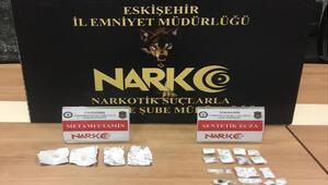 Eskişehir'de uyuşturucuya yakalanan 2 şüpheli tutuklandı