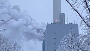 Santralde yangın çıktı, kentte felaket ilan edildi
