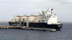 Dünyanın en büyük LNG gemilerinden NSoumer, Tekirdağda