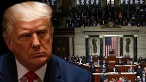 Son dakika... ABDde tarihi gün Dünyanın gözü burada Trumpın azil davası başladı