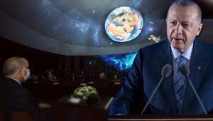 Son dakika haberi: Cumhurbaşkanı Erdoğan, Milli Uzay Programını açıkladı Cumhuriyetin 100. yılında Aya ilk temas Türk vatandaşı uzaya gidecek...