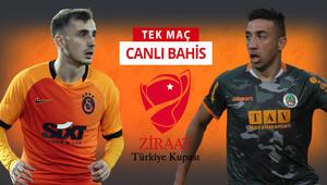 Hangi takım kupada yarı finale yükselecek Galatasarayın Alanyaspor karşısında iddaa oranı...