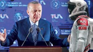 Cumhurbaşkanı Erdoğan tek tek sıraladı... Hedef 2023'te Ay