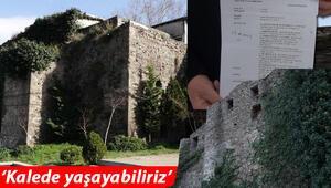 Trabzonda kale davası şaşkınlığı Tam 700 yıllık... Varis oldular