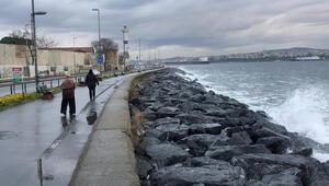İstanbulda lodos etkili oluyor