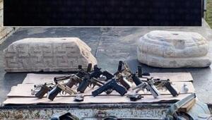 Bolvadinde silah kaçakçılığı operasyonu