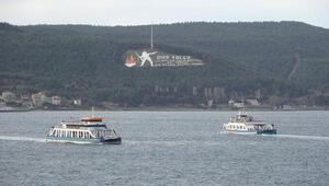 Gökçeada ve Bozcaadaya yarınki feribot seferleri iptal edildi