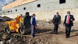 Beton santral tesisi taşınıyor