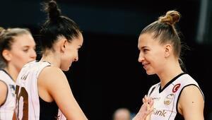 Kupa Voley: VakıfBank 3-0 Çan Gençlik Kalespor