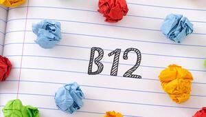 B12 vitamini eksikliği neden olur İşte B12 eksikliği belirtileri