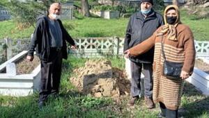 Sakaryada mezar taşları çalındı