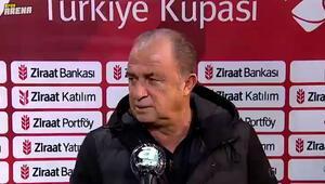 Fatih Terim, kupada oynanacak Alanyaspor maçı öncesi açıklamalarda bulundu