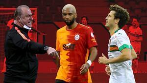 Fatih Terimden Galatasaray-Alanyaspor maçında olay tepki Babel ve Salih Uçan detayı...