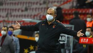 Galatasarayda Fatih Terimden Alanyaspor maçı sonrası hakem tepkisi