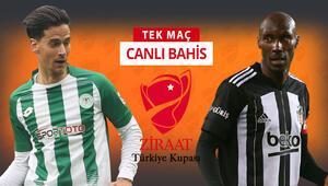 Fenerbahçe ve Galatasaray kupadan elendi, gözler Beşiktaşta Konya deplasmanında iddaa oranı...