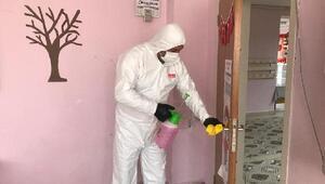 Lüleburgaz'da okullar dezenfekte edildi